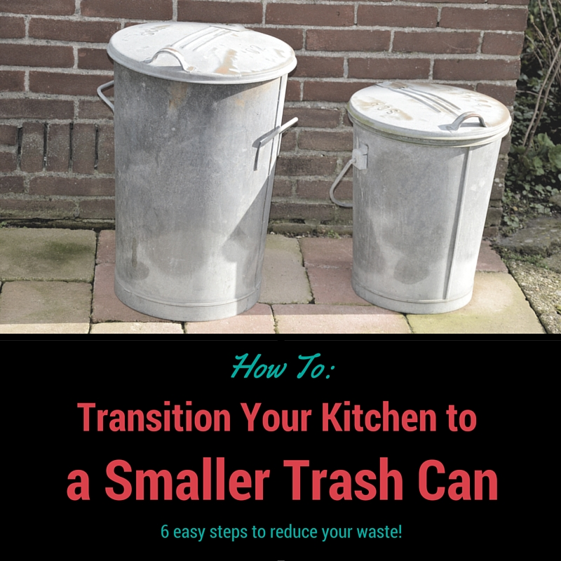 How To: Transition Your Kitchen To A Smaller Trash Can - The